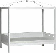 Kinderbett Amazonas, 90x200 cm, weiß
