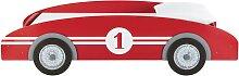 Kinderbett Auto aus Holz, 90x190, rot Circuit