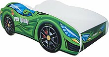  Kinderbett Autobett Pkw Green Lightning   140 x