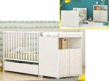 Kinderbett Babybett Jugendbett Bett Wickeltisch