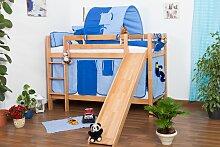 Kinderbett Etagenbett Jonas Buche Vollholz natur