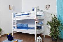 Kinderbett Etagenbett Mario Buche Vollholz massiv