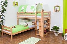 Kinderbett Etagenbett Moritz L Buche Vollholz