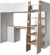 Kinderbett/Hochbett - Kombination mit Schreibtisch