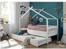 Kinderbett im modernem Stil LUANA-78 aus Kiefer