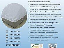 Kinderbett Matratzenschoner 70x140 cm Wasserdicht Anti-Milben Anti-Bakteriel Oeko-Tex100 Ware Matratzenschutz