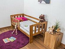 Kinderbett mit Absturzsicherung Kiefer Vollholz