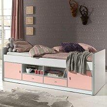 Kinderbett mit viel Stauraum modern