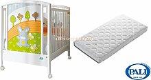 Kinderbett Pali Smart Bosco + Matratze Pali med Sanitized