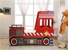 Kinderbett Spielbett FEUERWEHR + Lattenrost -