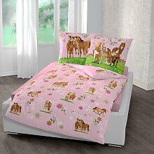 Kinderbettwäsche Pferde, Pferdefreunde 1x 135x200
