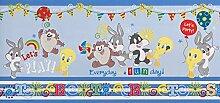 Kinderborte blau Kinder Wonderland Rasch Textil 318585