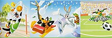 Kinderborte bunt Kinder Wonderland Rasch Textil 318424