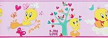 Kinderborte rosa Kinder Wonderland Rasch Textil 318561