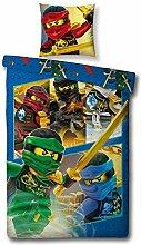 kinderdekbedovertrekken - Dekbedovertrek Lego