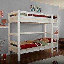 Kinderetagenbett aus Buche Massivholz Umbaubar