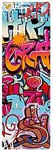 Kindergarderobe Garderobenpaneele Hiphop Graffiti