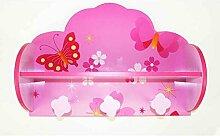 Kindergarderobe Schmetterling 48x34x16 cm