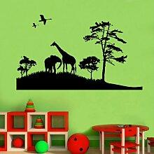 Kindergarten, Afrika, Safari, 60 x 100 cm