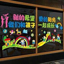 Kindergarten begann Huanchuang Thema Wand