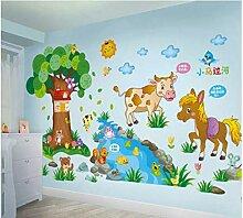 Kindergarten kinderzimmer wand wohnzimmer