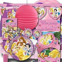 Kindergeburtstag Partyset Prinzessin XXL