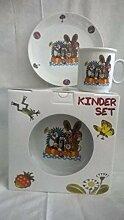 Kindergedeck Porzellan Maulwurf Gedeck Kinder