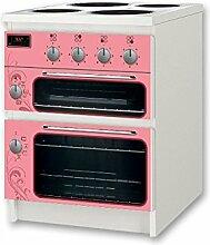 Kinderherd / Kinderofen rosa Möbelsticker / Aufkleber - NSD53 - für Kinderzimmer Kommode / Nachtisch MALM von IKEA