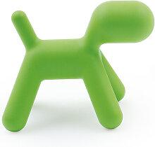 Kinderhocker Puppy Magis grün, Designer Eero
