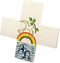 Kinderkreuz * Taube mit Regenbogen *