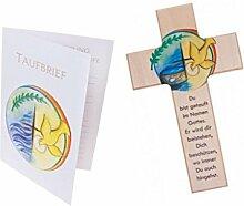 Kinderkreuz: Zur Taufe 15 cm - inklusive passenden