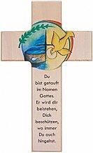 Kinderkreuz: Zur Taufe 15 cm