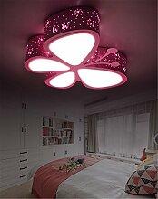 Kinderlampe Rosa Schmetterling Mädchen