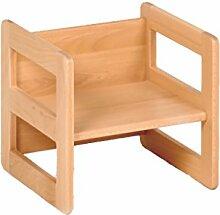 Kindermöbel Wendehocker Holz, praktischer