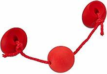 Kindermöbelgriff CHAMÄLEON BA 96 mm rot Möbelgriffe Schubladengriffe für Kinder von SO-TECH®