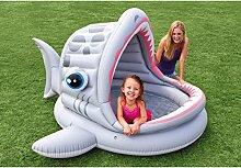 Kinderplanschbecken Schreiender Haifisch mit