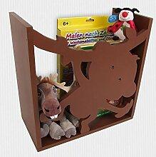 Kinderregal AFFE Spielzeugregal Wandregal Regal