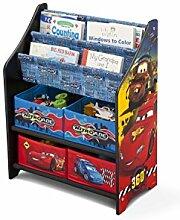 Kinderregal Bücherregal Spielzeugregal Disney´s Cars McQueen