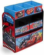 Kinderregal Cars Spielzeugregal Regal Kinder Günstig Stoffbox Kindermöbel
