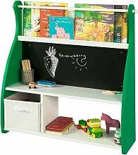 Kinderregal kindertisch mit tafel Spielzeugkiste