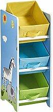Kinderregal Spielzeugregal Bücherregal | 3