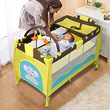Kinderreisebett Babybett Wiege Inkl. Matratze und