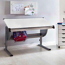 Kinderschreibtisch  höhenverstellbar Tischplatte neigbar