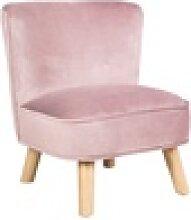 Kindersessel Lil in rosa