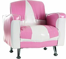 Kindersessel Mini Cadillac Prinzessin Pink Babysitz Kindermöbel Minisessel Kindersofa Sofa Couch Kinder Kinderzimmer