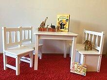 Kindersitzgruppe Holz 1x Kindertisch 2X