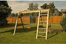 Kinderspielanlage Pauli Holzschaukel B300xT190cm