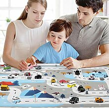 Kinderspielmatte, Verkehrsparkplatz Map Game Pad