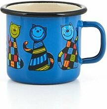 Kindertasse blau 250ml aus Emaille