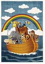 KINDERTEPPICH 140/200 cm Multicolor